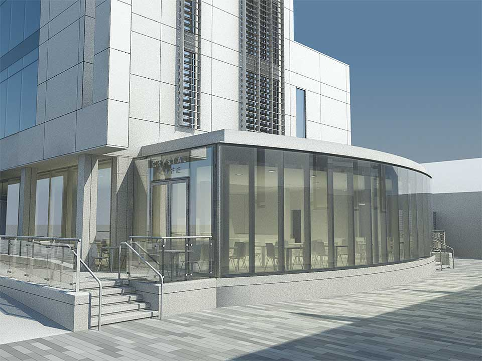Waterford Crystal Cafe Extension