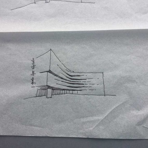 Waterford Medieval Museum First Sketch